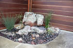 natural rock waterfeature