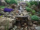 water fall pond